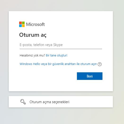Outlook ve Hotmail Hesap Nasil Acilir